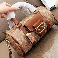 COACH Fashion New Pattern Leather Handbag Shoulder Bag Crossbody Bag