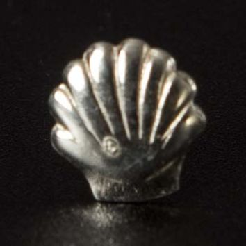 Seashell Sterling Stud