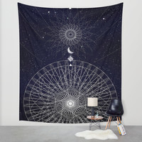Reveal Wall Tapestry by DuckyB (Brandi)