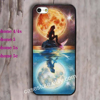 Disney Posters The Little Mermaid Case iPhone 5 Case iPhone 4S Case iphoen 5C case case iPhone 4 Case iphone 5s case skin birthday gift