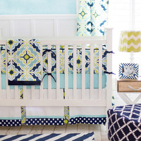 New Arrivals Starburst in Kiwi Baby Bedding