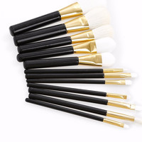 Soft Synthetic Makeup Brushes, Eyebrow Powder Lipsticks Shadows