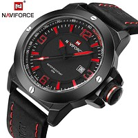 TOP Luxury Military Watches Men Quartz Analog Clock Man Leather Sports Watches Army Watch Relogios Masculino