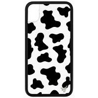 Wildflower - Moo Moo iPhone XR Phone Case