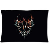Black Veil Brides 20X30 Inch 2 Sides Zippered Soft Cotton Pillow Covers Decorative Cushion Covers = 1929927684