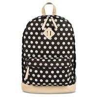 Women's Polka Dot Backpack Handbag Black - Mossimo Supply Co.