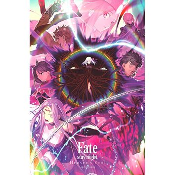 """Poster: Fate/stay night: Heaven's Feel III. spring song (24""""x36"""")"""