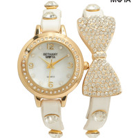 Aeropostale  Womens Radiant Bow Watch