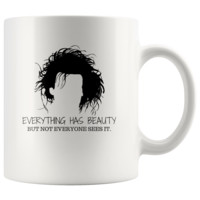 Edward Scissorhands Quote White 11oz Mug