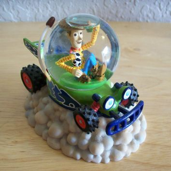 "Disney Toy Story ""Woody"" Miniature Snow globe"