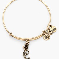 Women's Alex and Ani 'Mermaid' Charm Expandable Bangle - Russian