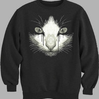 Inked Cat Sweater for Mens Sweater and Womens Sweater *