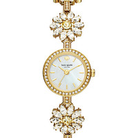 daisy crystal bracelet watch