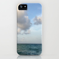 Sea and Clouds iPhone & iPod Case by Rosie Brown