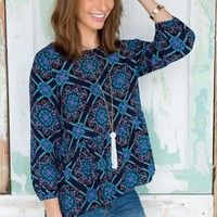 Verity Printed Blouse