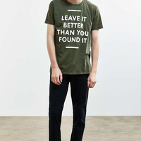 Parks Project Leave It Better Tee - Urban Outfitters