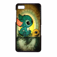 Stitch And Turtle Cute BlackBerry Z10 Case