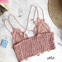 Free People - FP ONE Adella Crochet Lace Bralette in More Colors