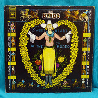 Vintage 70s The Byrds Sweetheart of The Rodeo Stereo Vinyl Album Record LP