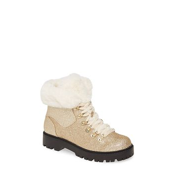 Katy Perry Henry Cold Weather Booties -6.5M/Champagne