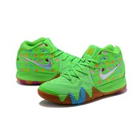 Nike Kyrie 4 Green Lucky Charms - Best Deal Online