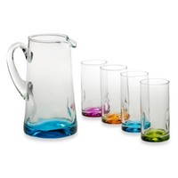 Libbey® Impressions Colors 5-Piece Drinkware Set