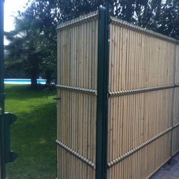 SCREENING WOODEN FENCE BEKAFOR® COLLFORT | BETAFENCE ITALIA