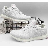 Adidas & Porsche joint models 2018 trendy men and women fashion casual shoes F-A36H-MY white