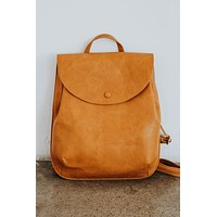Bianca Convertible Back Pack (Mustard)