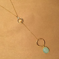Soul Searching Necklace- 14k Gold filled