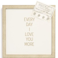 Petal Lane 'Every Day I Love You More' Magnet Board
