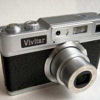 Vivicam Retro Classic 12.1MP Digital Camera T327 Black
