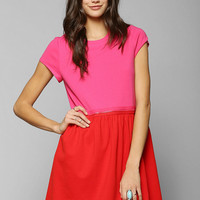 Cooperative Zip Away Convertible Babydoll Dress - Urban Outfitters