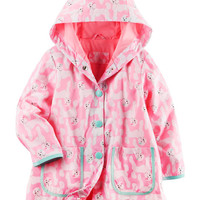 Fleece-Lined Poodle Rain Slicker
