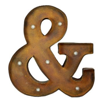 Studio Décor® Marquee Sign, Ampersand