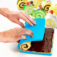 12inch Multifunction Cake Rolling pan Roast Chicken leak proof pad Baking tools Silicone