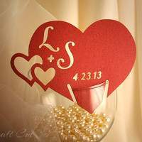 Place cards, Wedding escort cards (20+) Personalized