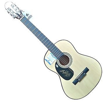 High Valley Band Autographed Country Music Acoustic Guitar, Proof Photo, Beckett S38186
