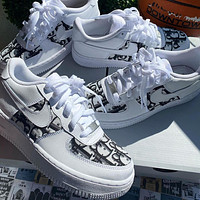 DIOR*Nike Air Force 1 '07 Low Low top casual sports shoes