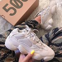 ADIDAS yeezy 350 hot sale classic men and women retro old shoes sneakers Shoes-1