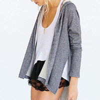 Casual Asymmetrical Hooded Blazer