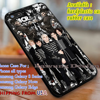 BW Collage My Chemical Romance  iPhone 6s 6 6s+ 6plus Cases Samsung Galaxy s5 s6 Edge+ NOTE 5 4 3 #music #mcr dl3