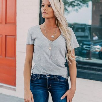 White Crow The Core T-Shirt - Women's T-Shirts in Heather Grey | Buckle