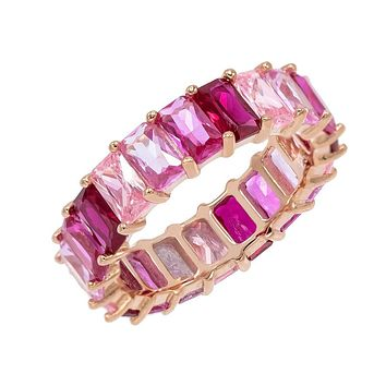 Ombré Pink Eternity Band