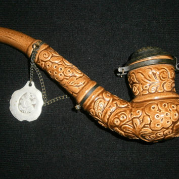 Tobacco pipe Ukrainane Smoking pipe Kozak