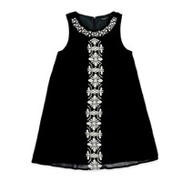 Embroidered Peasant Dress (Kids)