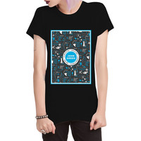 Jhon Green Looking For Alaska_For Black_Tshirt Woman