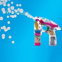 Bubble Gun Educational Products - Light Up Battery Operated Bubble Gun - Battery Operated Bubble Gun