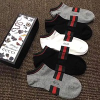 Gucci Women Fashion Casual Cotton Knitwear Socks