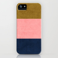 three stripes - classic iPhone Case by her art